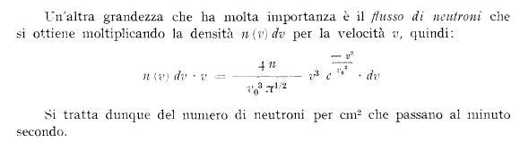 flusso di neutroni