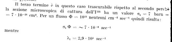 flusso neutronico