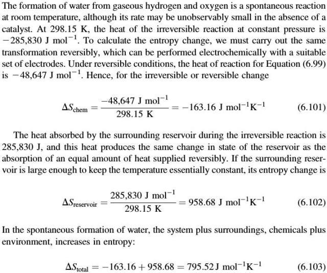 sintesi dell'acqua 1